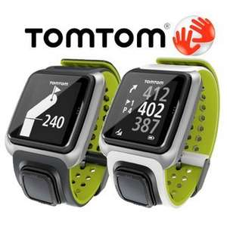 TomTom Golf GPS Watch Preloaded Course Data Precise £99 FREE P&P @ ebay-tesco