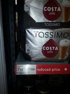 Tassimo Costa Coffee latte pods 8x only £1.32 @ Asda