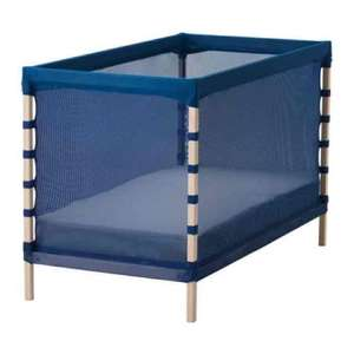 Flitig blue cot £30 IKEA in store £37.50 delivered