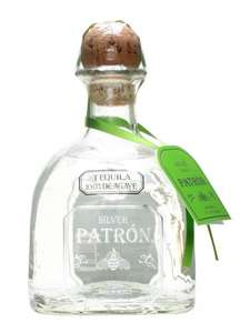 Patron Non Vintage Silver Tequila 70cl, £20 from Amazon