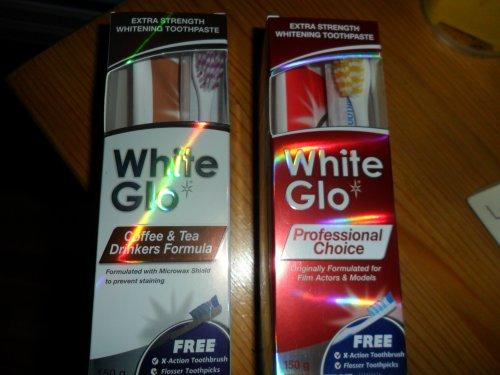 White Glo whitening toothpaste £2.00 instore @ Tesco Hamilton Estate