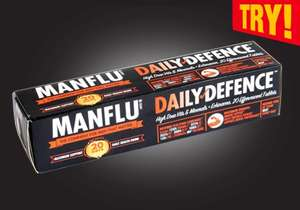 Manflu Orange Vitamins 79p @ Home Bargains...Zinc, Vit C + Echinacea