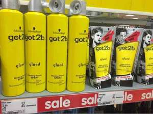got2b hairspray & gel £1 @ Asda instore