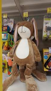 Giant nutbrown guess how much I love you hare £15 - Tesco (£2 c&c) or £14 instore.