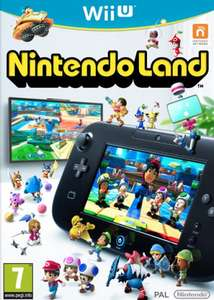 Nintendo Land Wii U £9.85 Delivered @ Base