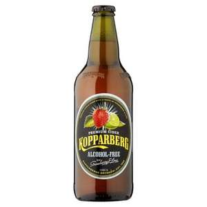 Kopparberg Strawberry And Lime Alcohol Free 500Ml 65p @ Tesco
