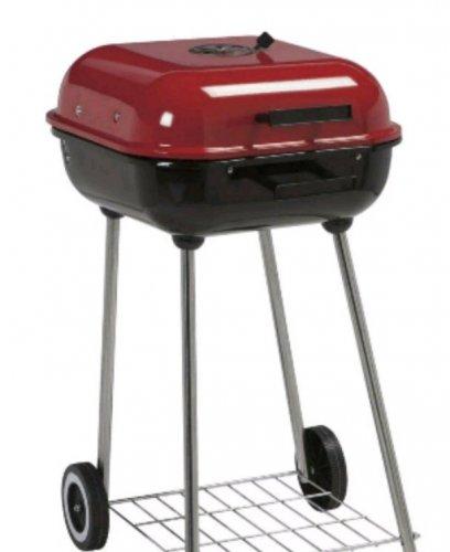Tesco 47cm square charcoal kettle BBQ £18.50 @ Tesco (£2 c&c)