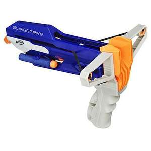 Nerf N-Strike Slingstrike Slingshot + FREE 30 darts for £5.50 @ The Entertainer