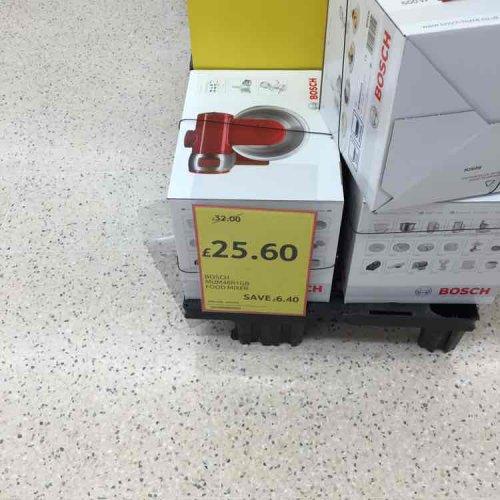 bosch MUM48R1GB Food mixer £25.60 @ Tesco instore (Leicester)