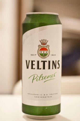 Veltins Canned Pilsener 500ml £1.29 @ Lidl