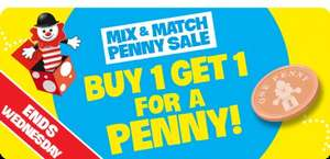 The Entertainer  Mix & Match Penny Sale -  Buy One Get One 1p
