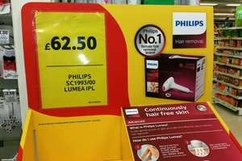 Philips Lumea SC1993/00 In Store @ Tesco,  £62.50