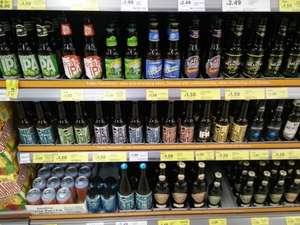 Craft Beers £1.50 each with reductions also from £1.00 @ Tesco instore