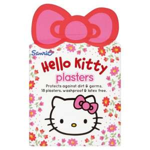Hello Kitty Plasters 18pack Now 24p @Superdrug In store.