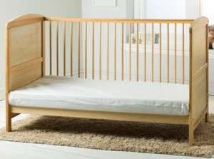 ** Kinder Valley Cot Bed Mattress now £16 (code TDX-HWXP) @ Tesco Direct (P&P £7.95 or Free with Delivery Saver) **