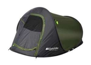 EUROHIKE Pop 200 FD+ 2 Man Tent - Ideal little pop up tent for the kids £20 - £3.99 delivery / £1 c&c @ Millets