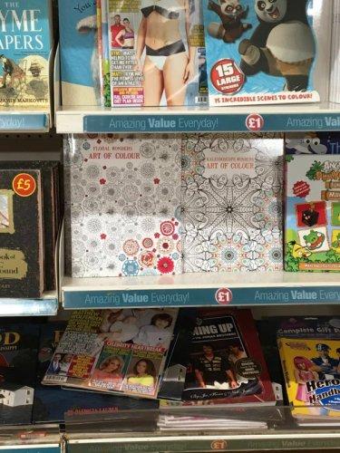 Adult colouring books £1 @ Poundland