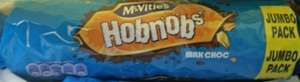mcvities milk chocolate hobnobs jumbo pack 431g 10p in morrisons