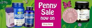 Holland and Barrett Penny Sale plus 15% off plus Free Delivery plus Free 1kg Peanuts and Raisins (mixed) plus Double RFL Points No Minimum Spend