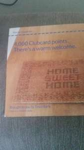 4000 clubcard points when you buy tesco home insurance