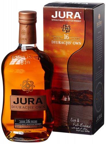 Jura 16 Year Old Scotch Whisky 70 cl @ £37 Amazon