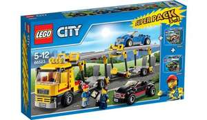 Lego City Vehicle 3 In 1 Super Value Pack - 66523 £20 @ Asda Instore
