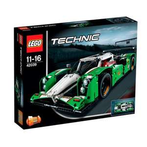 LEGO TECHNIC: 24 HOURS RACE CAR (42039) £75.59 with code at The Hut