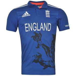 England Cricket ODI Shirt £10.99  + £4.50 P&P (other England cricket items available) @ Kitbag