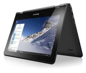 """(Open Box) Lenovo Yoga 300 11.6"""" N2940 Convertible Touchscreen Laptop Windows 10, 32GB from Tab retail ebay £140 delivered"""