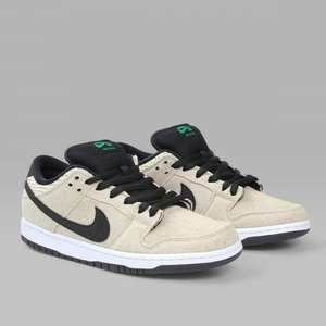 Attitude Inc - NIKE SB DUNK LOW PREMIUM '420 HEMP PACK' BAMBOO - limited edition £65