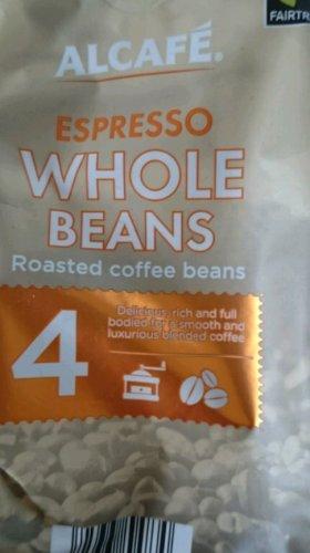 Aldi Alcafe Coffee Beans 200g £1.69