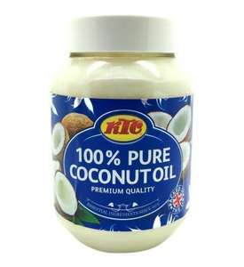 KTC Pure 100% Coconut Multipurpose Oil 500ml x 2 Pack for £3 ( £1.50 each ) @ Amazon (add on item)