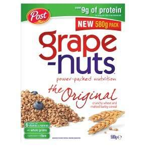 Grape-Nuts Cereal (580g) ONLY  £2.34 @ ASDA