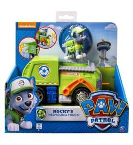Paw Patrol Rocky's Recycling Truck and Figure £13 @ Boots