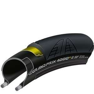 2 x Continental Grand Prix 4000S II Folding Road Tyre  £48.78 delivered @ ProBikeKit