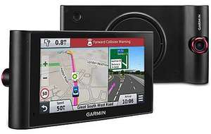 "Ex Display Garmin nuviCam 6"" Sat Nav with built-in Dash Cam with Full Europe Maps and Traffic £130 @ Halfords"