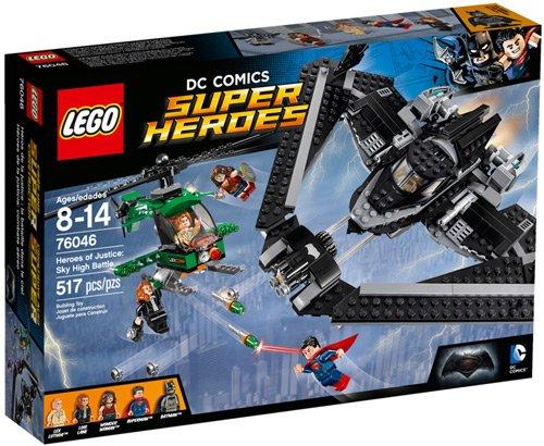 LEGO Super Heroes of Justice Sky High Batman vs Superman set £39.99 @ Argos