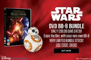 Star Wars BB-8 Droid + Force Awakens DVD £99.99 Delivered @ IWOOT