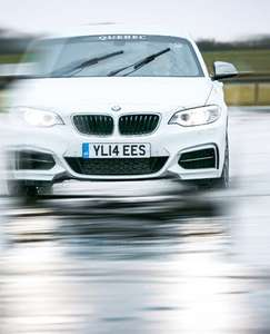 BMW Wet Skidpan Extreme Weather Driving Experience in M235i  £69 at Goodwood