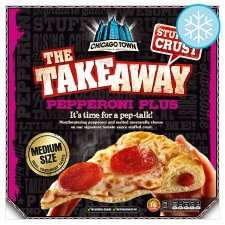 Chicago town Takeaway stuffed crust pizzas £2 @ Tesco