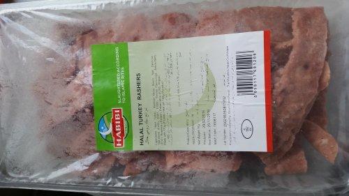 Halal Turkey Rashers £.01 at JJ Food Service