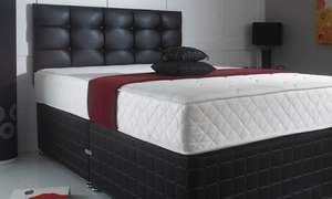 Groupon - Cool Blue Hybrid Memory Foam Mattress - King Size £110.48 (with Code) & Free Delivery