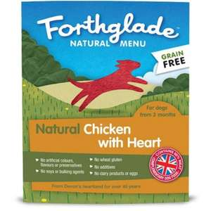 Forthglade Grain Free Dog Food £14.99 For 18 + Save £10 On £45 Spend + Free Delivery From Fetch