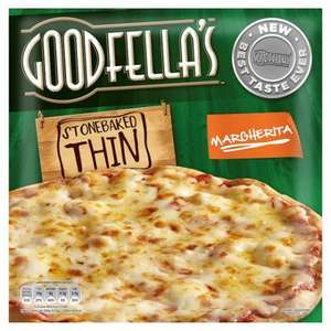 Goodfella's Stonebaked Thin Pizzas £1 @ Tesco (Until 09/05/2016)