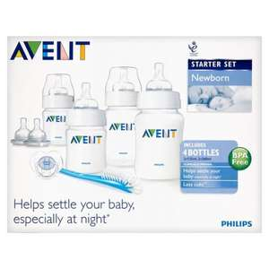 Avent newborn starter set only £3.52 in store @ morrisons (online OOS)