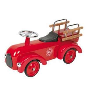 Classic Ride-On Foot To Floor Aluminium Fire Engine Car in Red £39 Del @ Tesco Direct Ebay Outlet