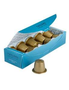 Taylor's Coffee Capsules X 10 (Nespresso Compatible) - £1.50 with code + £3.95 P&P taylorscoffeecapsules