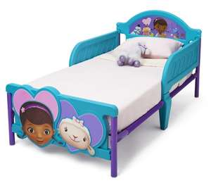 Delta Doc McStuffin Toddler Bed with 3D Footboard £49.99 bigredwarehouse