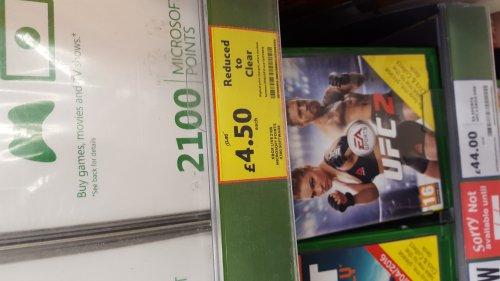 2100 Xbox (Microsoft) points £4.50 @ Tesco (Swansea Marina)