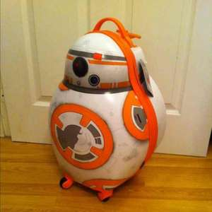 Star Wars BB-8 luggage at Disney Store £23.96
